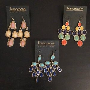 Francesca's Collections Statement Earrings